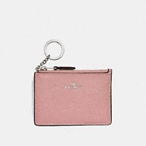 NWT Coach mini skinny ID case. Pink